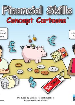 Financial Skills Concept Cartoons