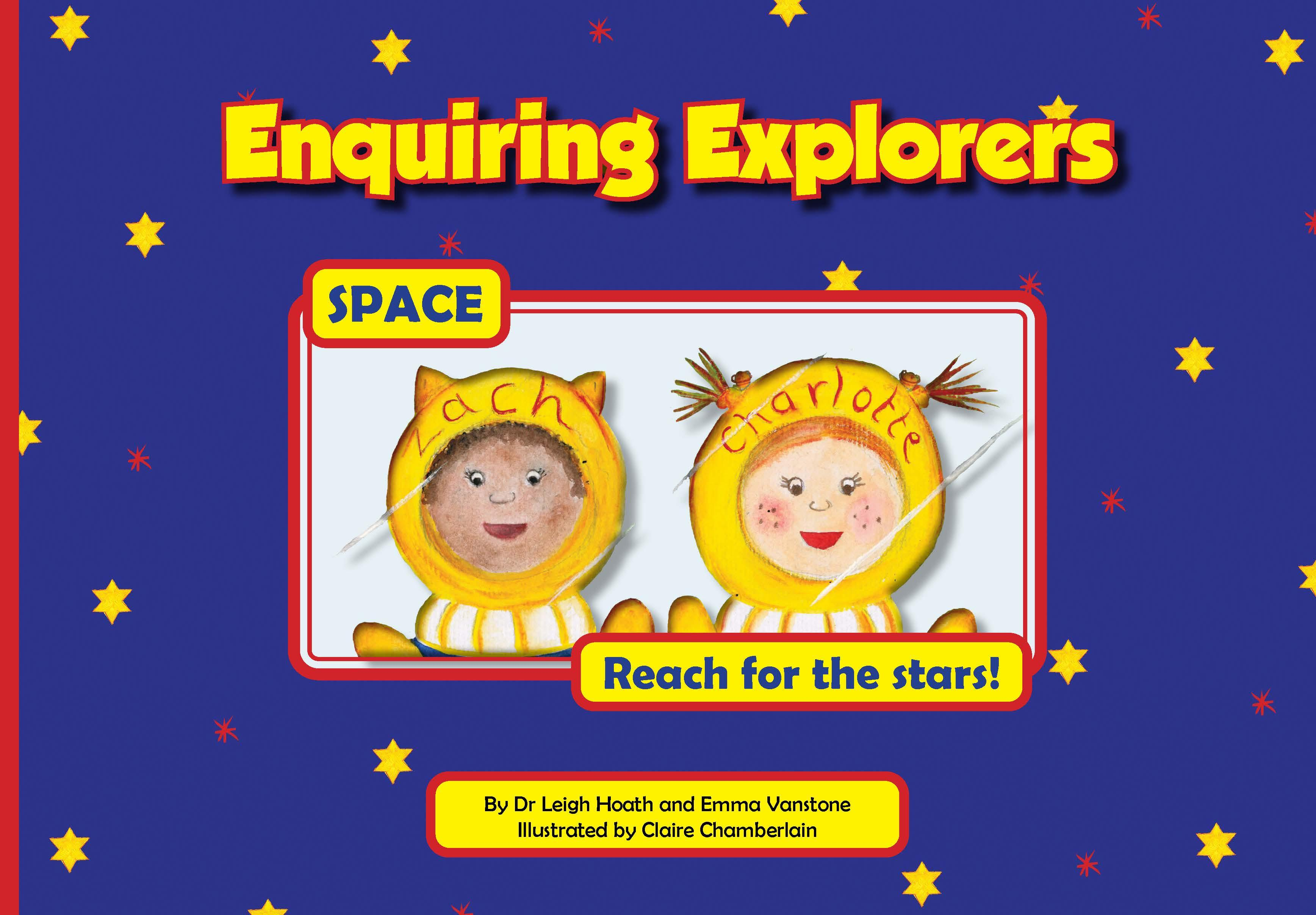 Enquiring Explorers – Space cover page